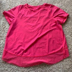 Lulu pink shirt